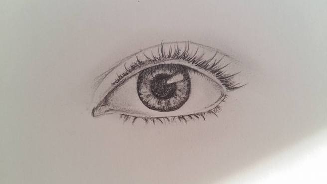 dessin d un oeil