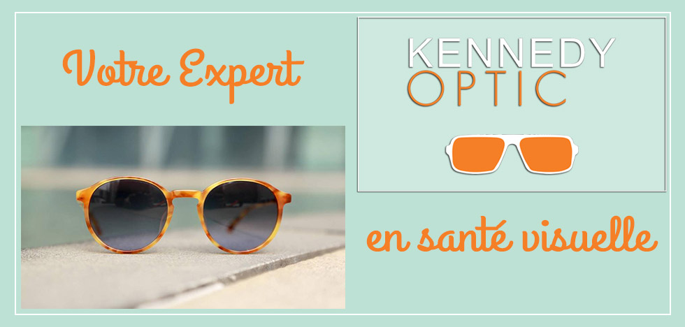 slide2-votre expert en santé visuelle- une paire de lunette de soleil au sol devant une piscine