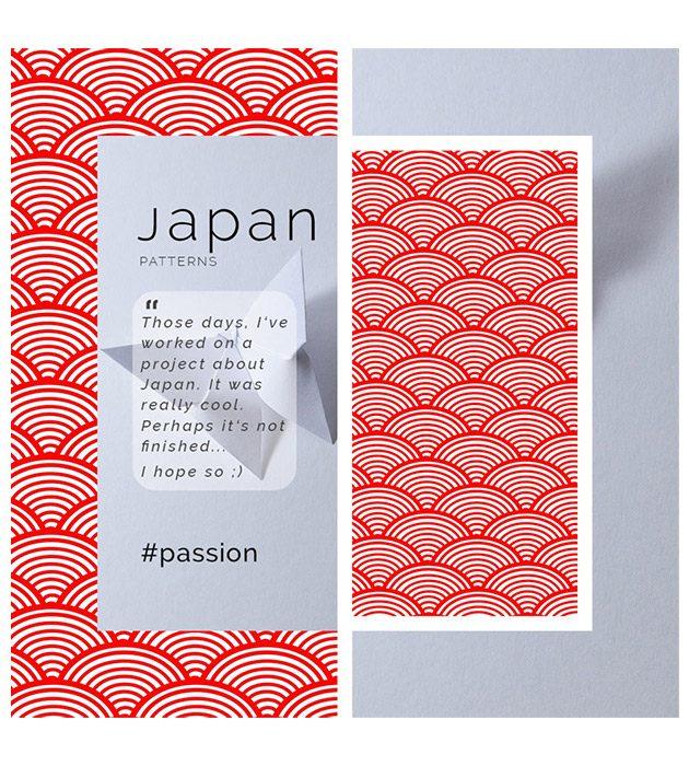 Flyer Japan pour le fun créé par Cécile Jonquières Graphiste webdesigner illustratrice 31