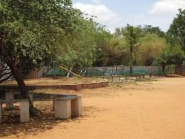 Spielplatz auf dem Hauptcampus