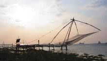 Chinesische Fischernetze in Kochi
