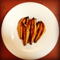 Sweet potatoes wedges / Potatoes de patates douces