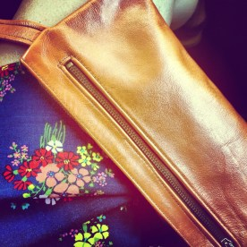 broke out my grandmother's wristlet for a week of easygoing runnings around