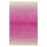 You know I love a good ombre striped rug!