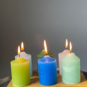 set velas paraíso