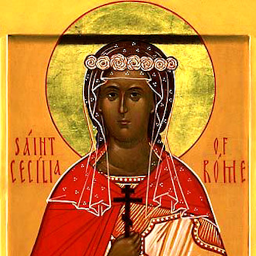 Icon of Saint Cecilia of Rome