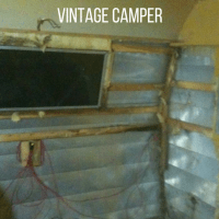 Repairing Water Damage in a Vintage Camper