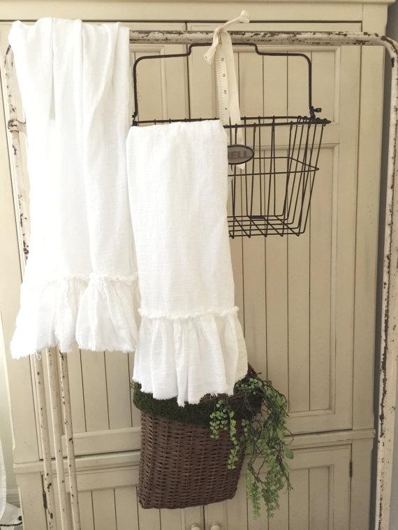 Ruffled Tea Towels