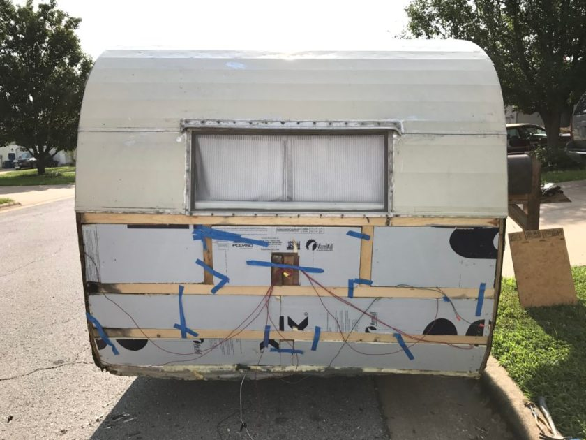vintage trailer insulation