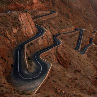 The Long and Crooked Road in Morocco Photo by Renbian