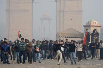 New Dehli - 22th December 2012 - Femen India