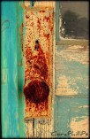 rusted door knob