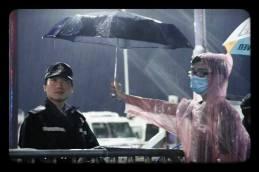 central student protest umbrella 1