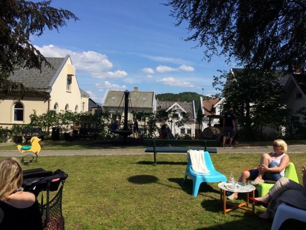 Parken kaffebar i Farsund