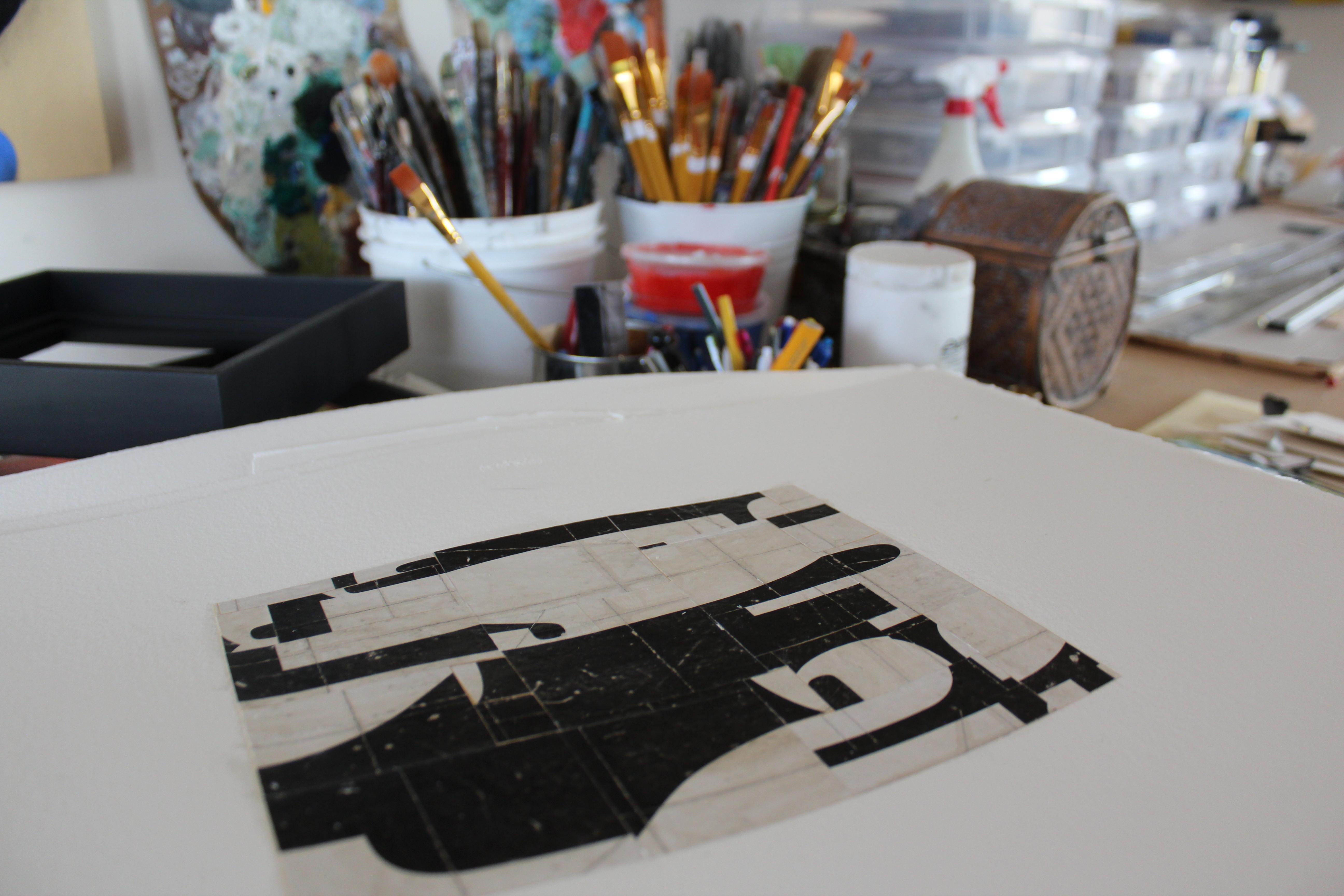 The Studio of Cecil Touchon