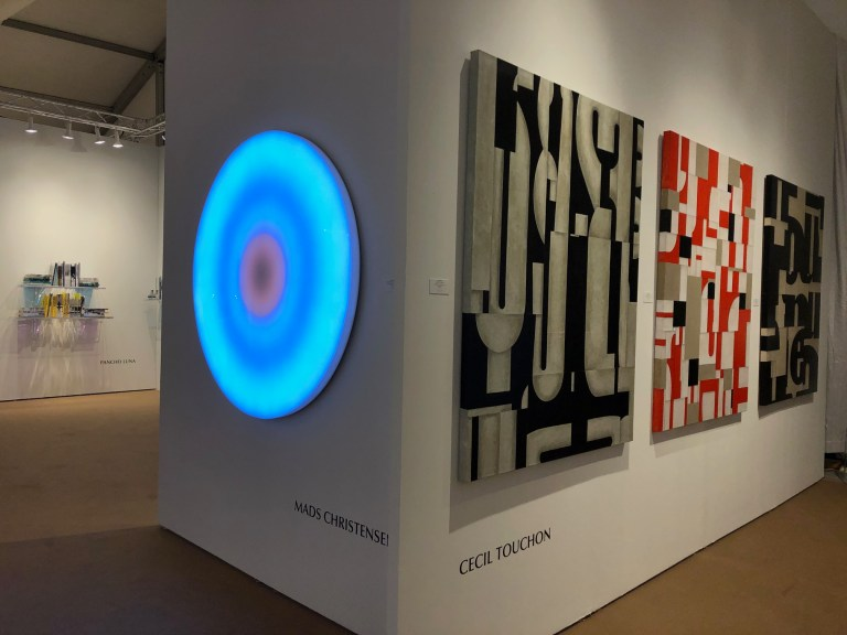 TOUCHON PAINTINGS AT PALM BEACH MODERN + CONTEMPORARY 2020