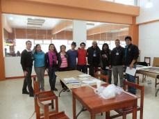Professor Michael Flanagan and his museum studies students