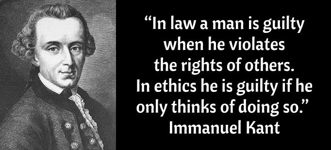 Immanuel kant and the ethics of