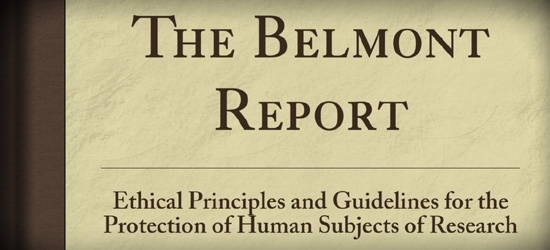 Cover of The Belmont Report Book