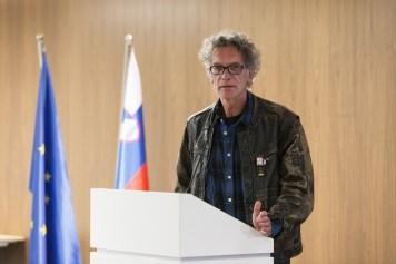 Simon Kardum, CUK Kino Šiška, Foto: Katja Goljat