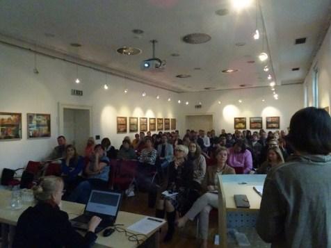 """Seminar """"Kulturno sodelovanje prek meja. Fokus kulturna dediščina""""."""