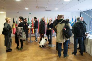 Mesta v Hiši EU: od ustvarjalnih povezav do EPK, Ljubljana, 18. okt. 2018. Foto Katja Goljat.