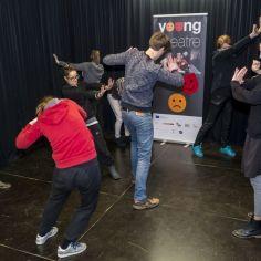 Foto: Pionirski dom, Young Theatre on the Move / Mlado gledališče v gibanju s podporo programa Ustvarjalna Evropa.