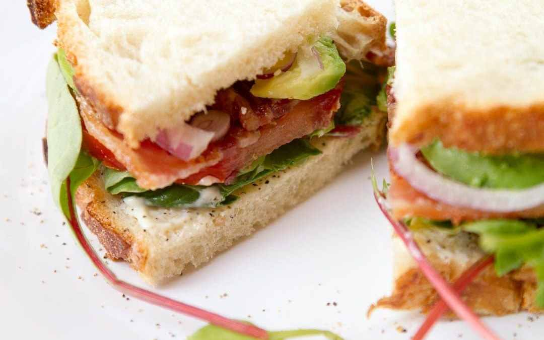 BLT with Avocado & Red Onion