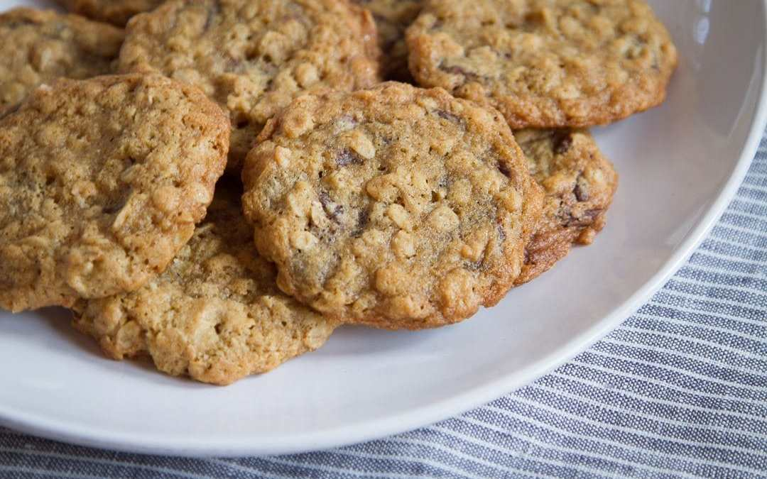 Favorite Oatmeal Chocolate Chip Cookies