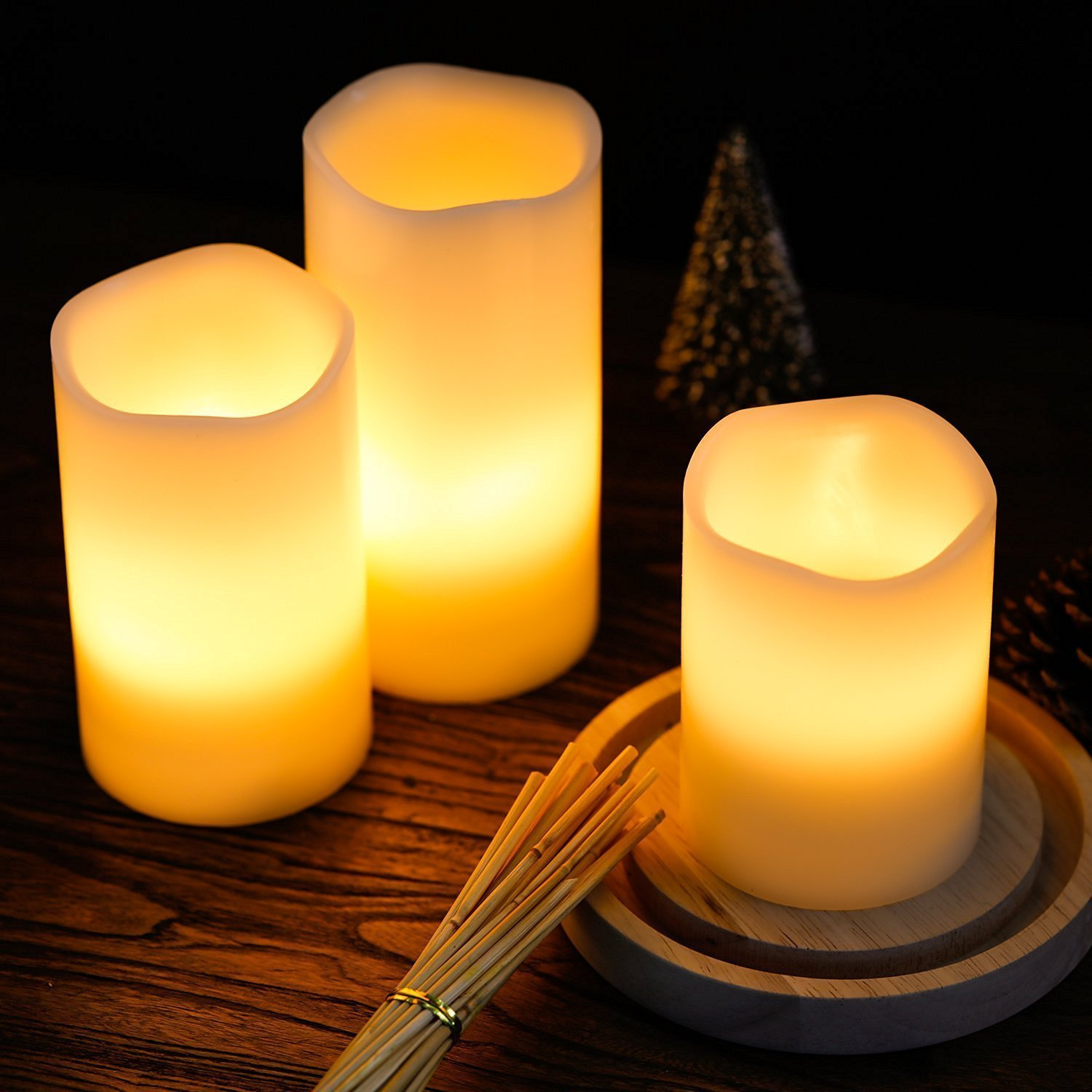 Led Flameless Candle Rental San Diego