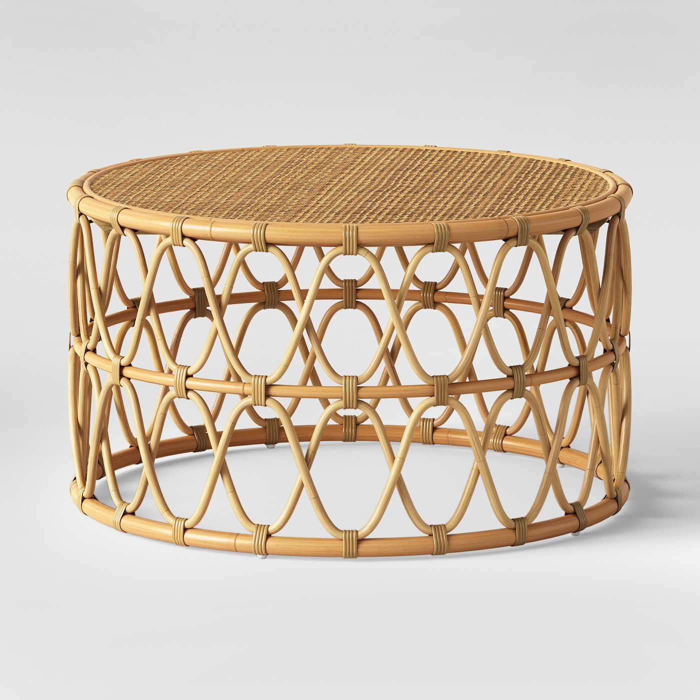 Round Rattan Coffee Table Rental San Diego Lounge Rentals