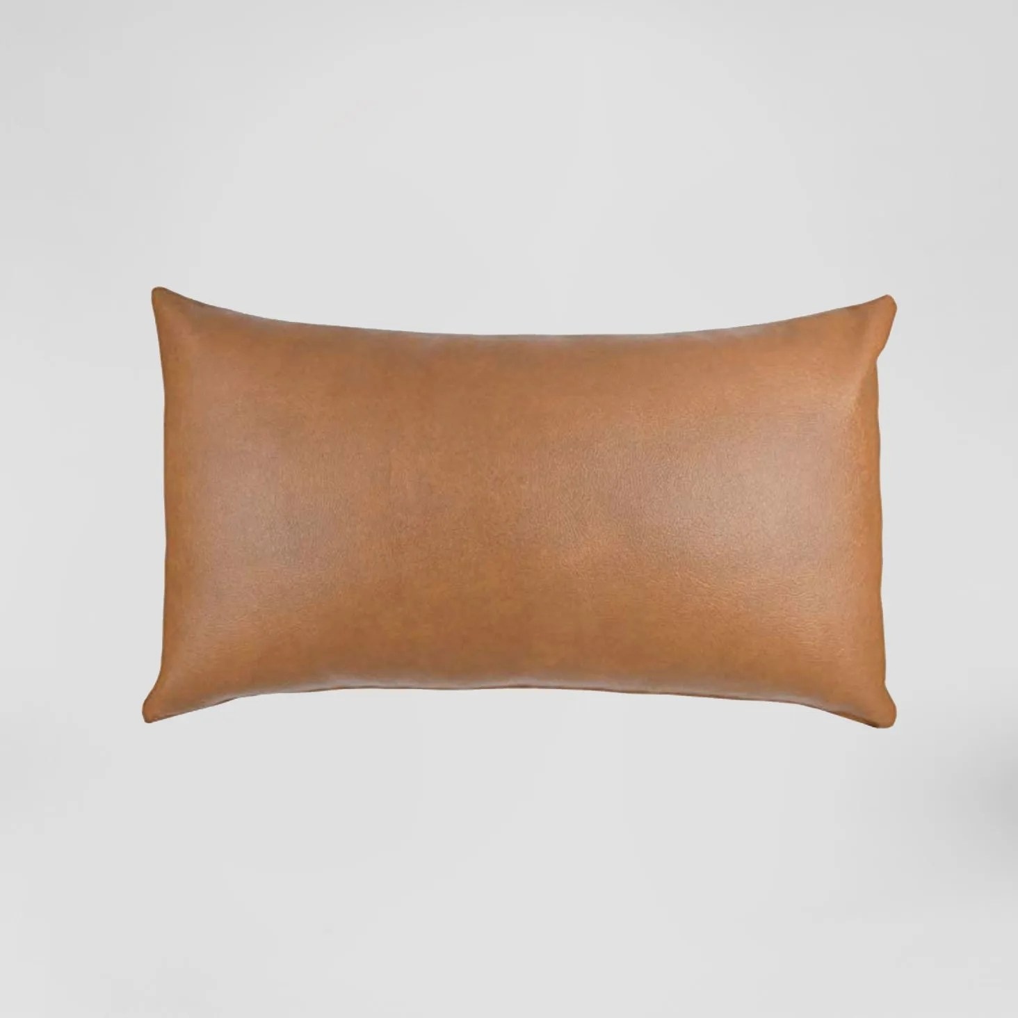 leather pillow collection