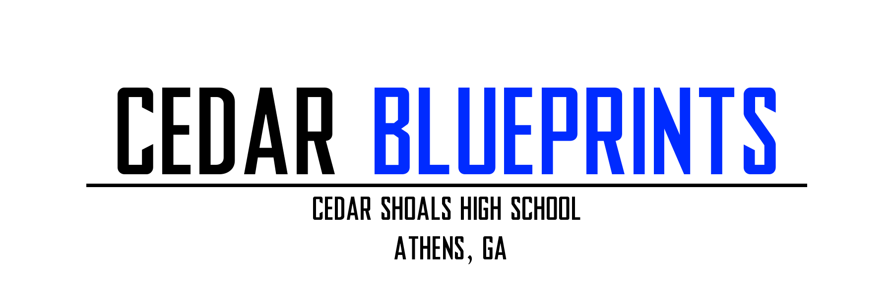 Cedar BluePrints Magazine