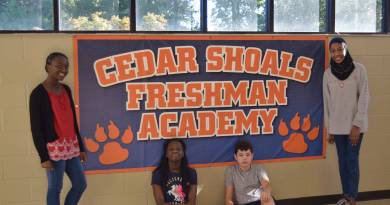 Cedar Shoals freshmen consider school's reputation