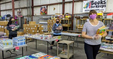 Local non-profit keeps books accessible during the pandemic