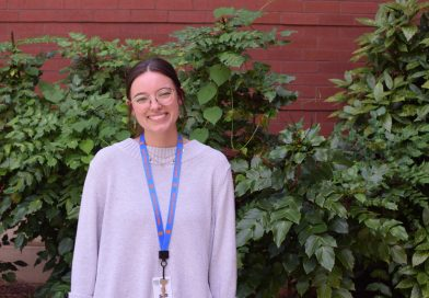 On the prowl: Powell tackles her first year teaching in-person