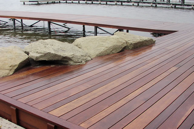 Red Mahogany Decking