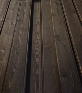 custom pre-stained interior Western Red Cedar paneling