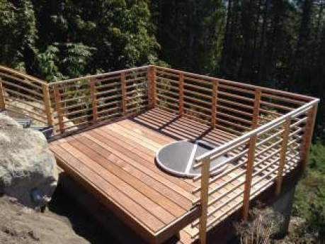 Ipe decking naturally resists wear, rot, splintering, pests, fire and virtually every other threat imaginable