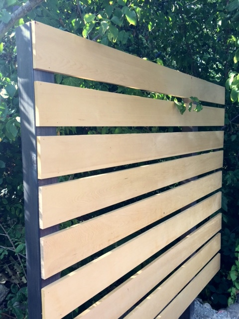 Alaskan Yellow Cedar Boards Used for Fencing