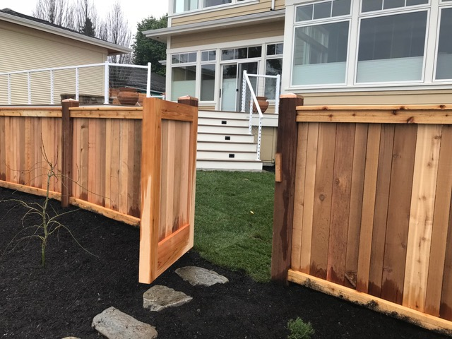 Western Red Cedar Custom Fence Boards