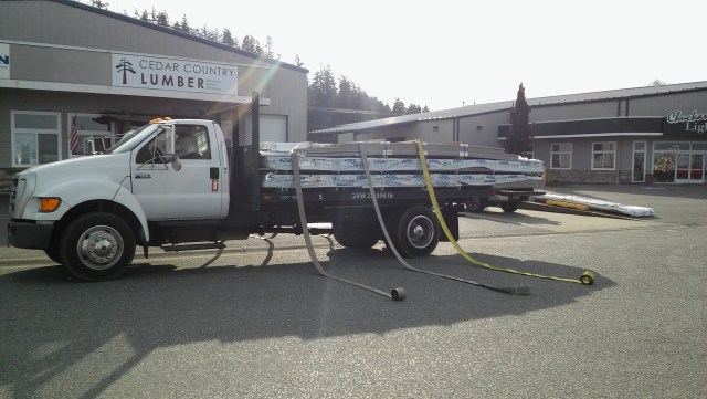 azek decking delivered in skagit, island, whatcom, snohomish counties, as well as the san juan islands