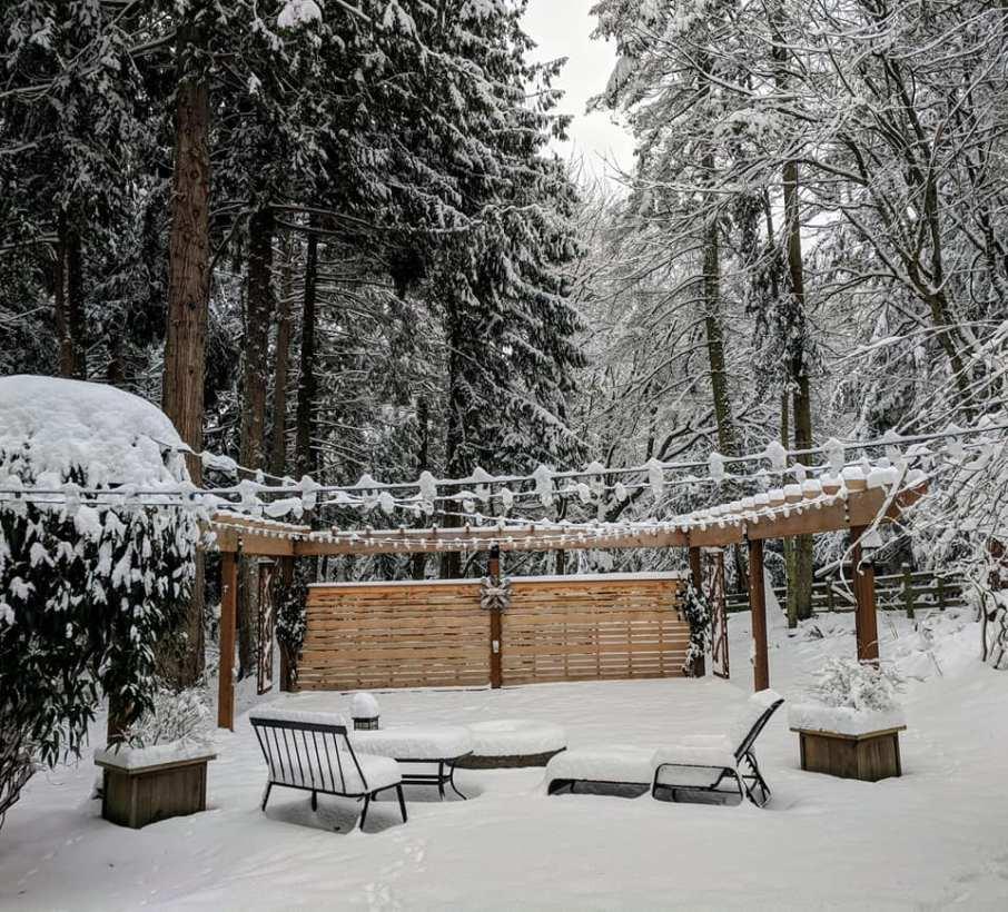 Western Red Cedar timbers and Alaskan Yellow Cedar fencing