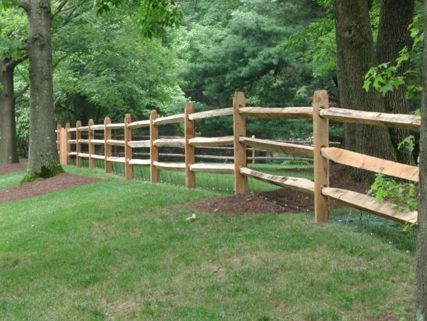 Western Red Cedar Split rail fencing for sale