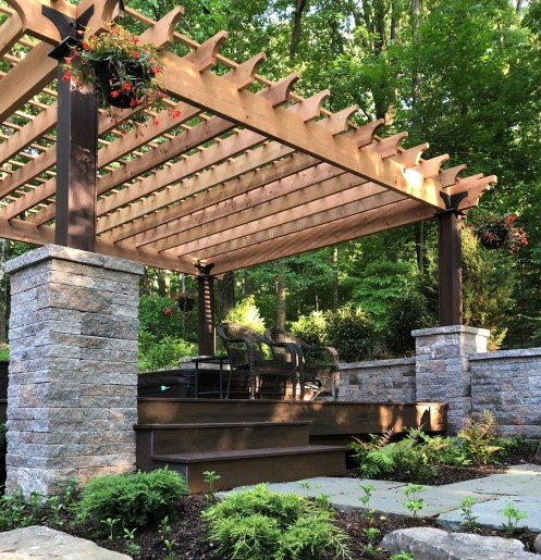 Western Red Cedar Patio Cover