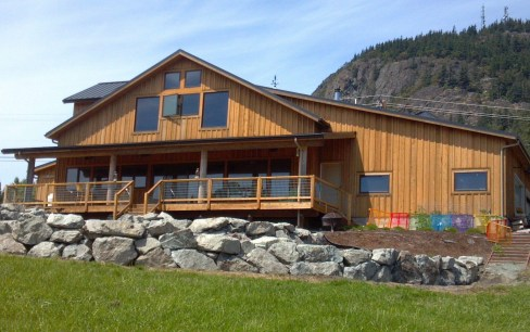 Western Red Cedar Board and Batten Siding is a popular siding choice