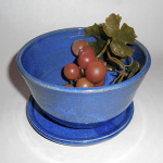 Andee Warren's Med. Berry Bowl, Blue