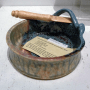 Earth Tones Pottery's Brie Baker in Teal
