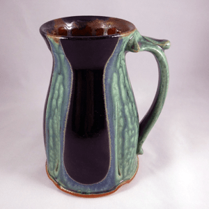 Large Stein Green Black
