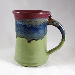 Clay in Motion Large Mug in Mossy Creek